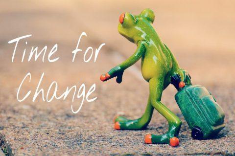 Organizing and coaching = Change!